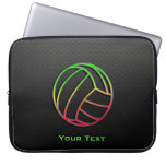 Colorful Volleyball Laptop Sleeves
