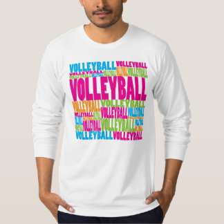 Colorful Volleyball T-Shirt