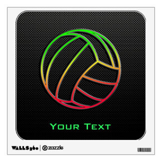 Colorful Volleyball Wall Stickers