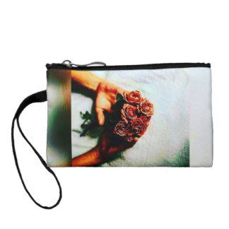Colorful Waitin In Pain Key Coin Clutch