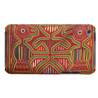 Colorful Wall Hanging of Cuna Indians 2 Barely There iPod Case