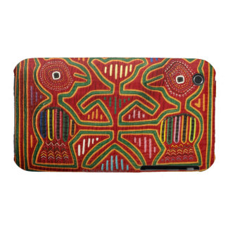 Colorful Wall Hanging of Cuna Indians 2 Case-Mate iPhone 3 Cases