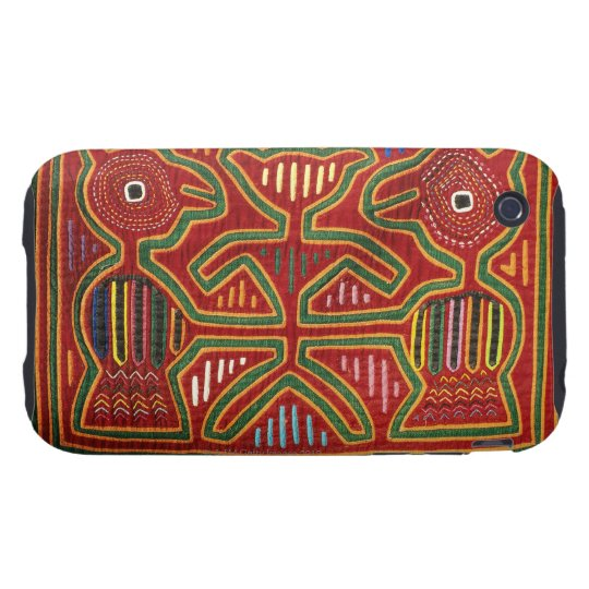 Colorful Wall Hanging of Cuna Indians 2 iPhone 3 Tough Cover