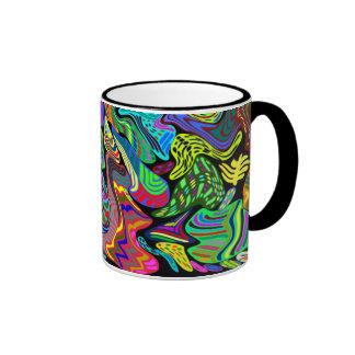Colorful Warped Coffee Mug
