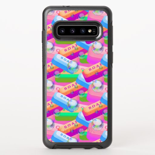 Colorful Wash Hands Soap OtterBox Galaxy S10 Case