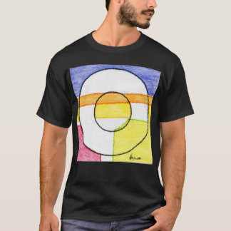 Colorful washer t shirt