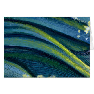 Colorful Water Flow Greeting Cards