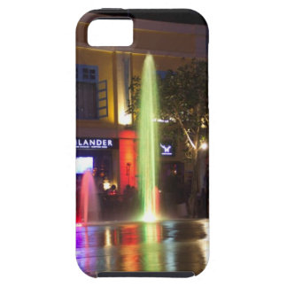 Colorful water jets at Clarke Quay iPhone 5 Covers