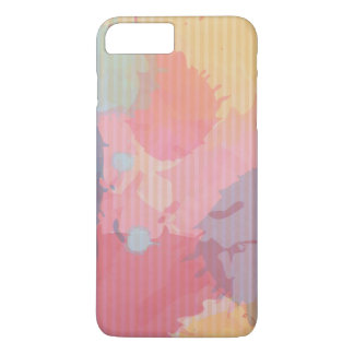 Colorful Watercolor Cardboard Abastract Art iPhone 7 Plus Case