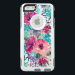 "Colorful Watercolor Floral Pattern OtterBox iPhone 6/6s Case<br><div class=""desc"">Chic and feminine,  this floral design features beautiful watercolor blossoms in pinks,  purples and blues.</div>"