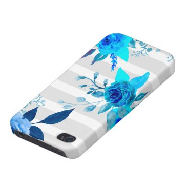 Colorful watercolor rose case iPhone
