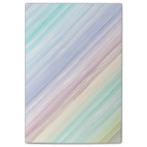 Colorful watercolor stripes pattern post-it notes
