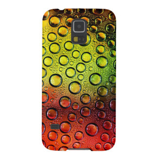 colorful waterdrops vector art galaxy s5 cover