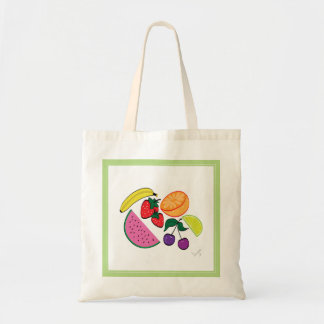 Colorful Watermelon Fruit Summer, Cool Tote Bag