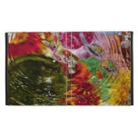 Colorful Waters Abstract Photography iPad Folio Covers