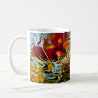 Colorful Waters Abstract Photography Classic White Coffee Mug
