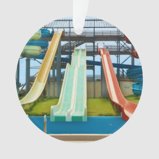Colorful Waterslides