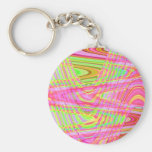 colorful wave key chain