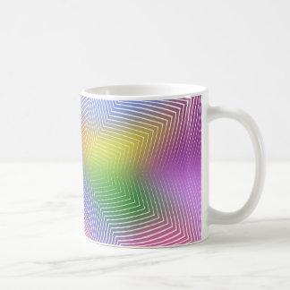 Colorful Waves: Coffee Mug