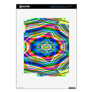 Colorful Waves iPad 3 Skins