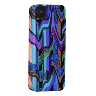Colorful Wavy Weave Abstract iPhone4 Case iPhone 4 Covers