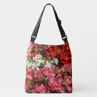 Colorful Wax Begonias Crossbody Bag