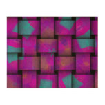 Colorful Weave pattern Cork Paper Print