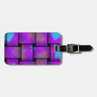 Colorful Weave pattern Luggage Tag