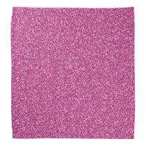 Colorful Wedding Anniversary Pink Glitter Bandana