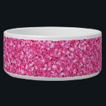 "Colorful Wedding Anniversary Pink Glitter Bowl<br><div class=""desc"">This is an awesome abstract art gift featuring a colorful glitter pattern texture that looks awesome. This makes the perfect gift for any occasion. 