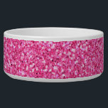 """Colorful Wedding Anniversary Pink Glitter Bowl<br><div class=""""desc"""">This is an awesome abstract art gift featuring a colorful glitter pattern texture that looks awesome. This makes the perfect gift for any occasion.   Add your own wording,  name,  favorite saying,  favorite quotes,  etc. to personalize this even more by clicking on the blue CUSTOMIZE IT button.</div>"""
