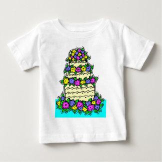 Colorful Wedding Cake Baby T-Shirt