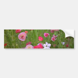Colorful Weeds Bumper Stickers