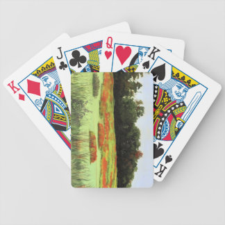 Colorful Wetlands Bicycle Playing Cards
