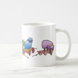 Colorful whimseys to brighten your day coffee mug