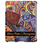 Colorful Whimsical Doodle Abstract Pattern