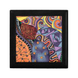 Colorful Whimsical Doodle Abstract Pattern Gift Boxes
