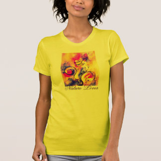 COLORFUL WHIMSICAL FLOWERS  NATURE LOVER T-Shirt