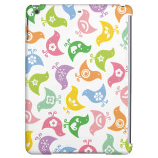 Colorful Whimsical Retro Rainbow Chicks Casing iPad Air Case