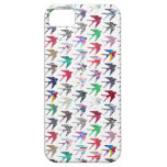 Colorful whimsical  swallow birds pattern iPhone 5 covers