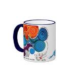 Colorful, Whimsical, Uplifting - ART Coffee Mug