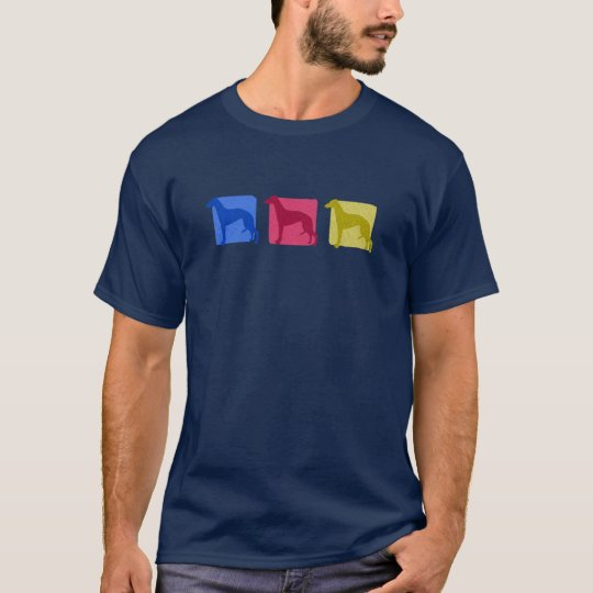Colorful Whippet Silhouettes T-Shirt