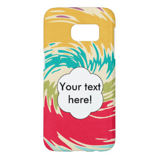 Colorful whirlpool samsung galaxy s7 case