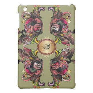 Colorful Wings Monogram iPad Case