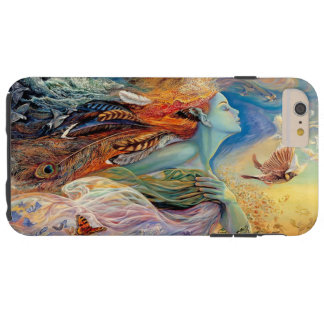 Colorful Woman Painting Tough iPhone 6 Plus Case