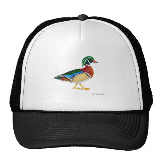Colorful Wood Duck Trucker Hat