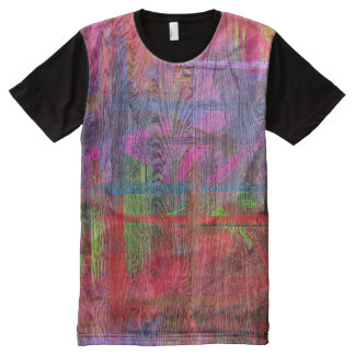 Colorful Wood Grain #3 All-Over Print Shirt