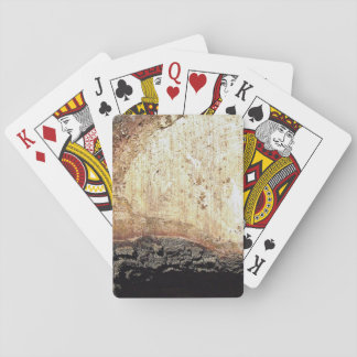 Colorful Wood Poker Deck