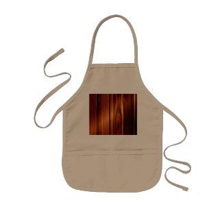 colorful wood texture varnished wood kids' apron