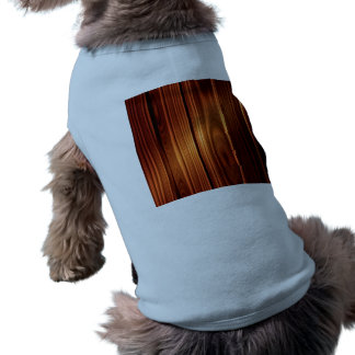 colorful wood texture varnished wood pet shirt